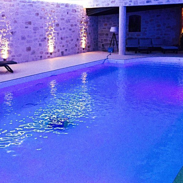 Revêtement piscine en moquette de pierre Living Stone