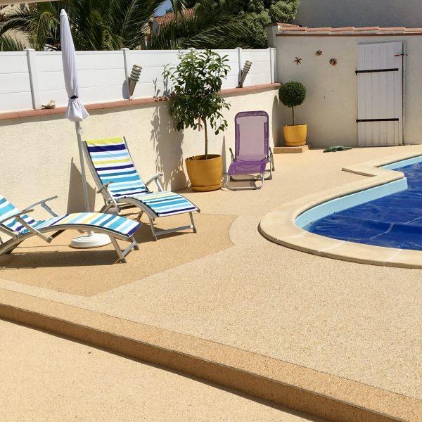 revêtement sol piscine livingstone