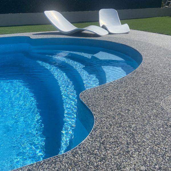 revetement livingstone piscine